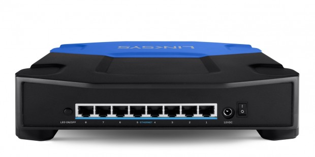 linksys se4008 teurer gigabit switch als unterbau f r linksys router. Black Bedroom Furniture Sets. Home Design Ideas