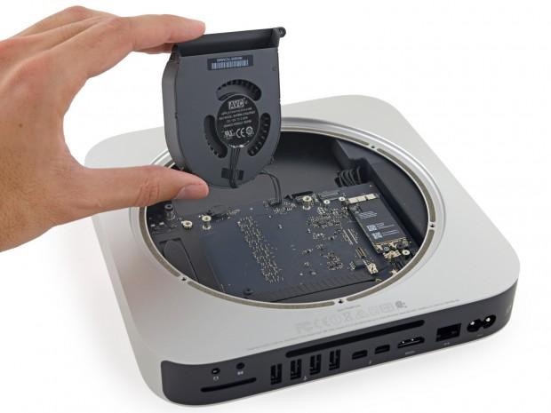 Mac Mini bei iFixit (Bild: iFixit)