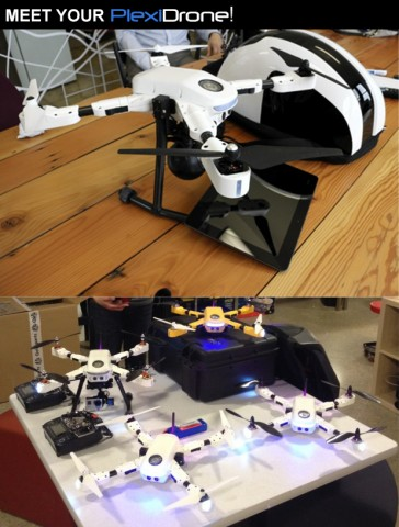 Plexidrone (Bild: Kickstarter)