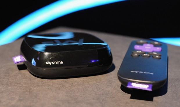 Vorserienmodell der Sky-Box auf Basis des Roku 3 (Bild: Nico Ernst)