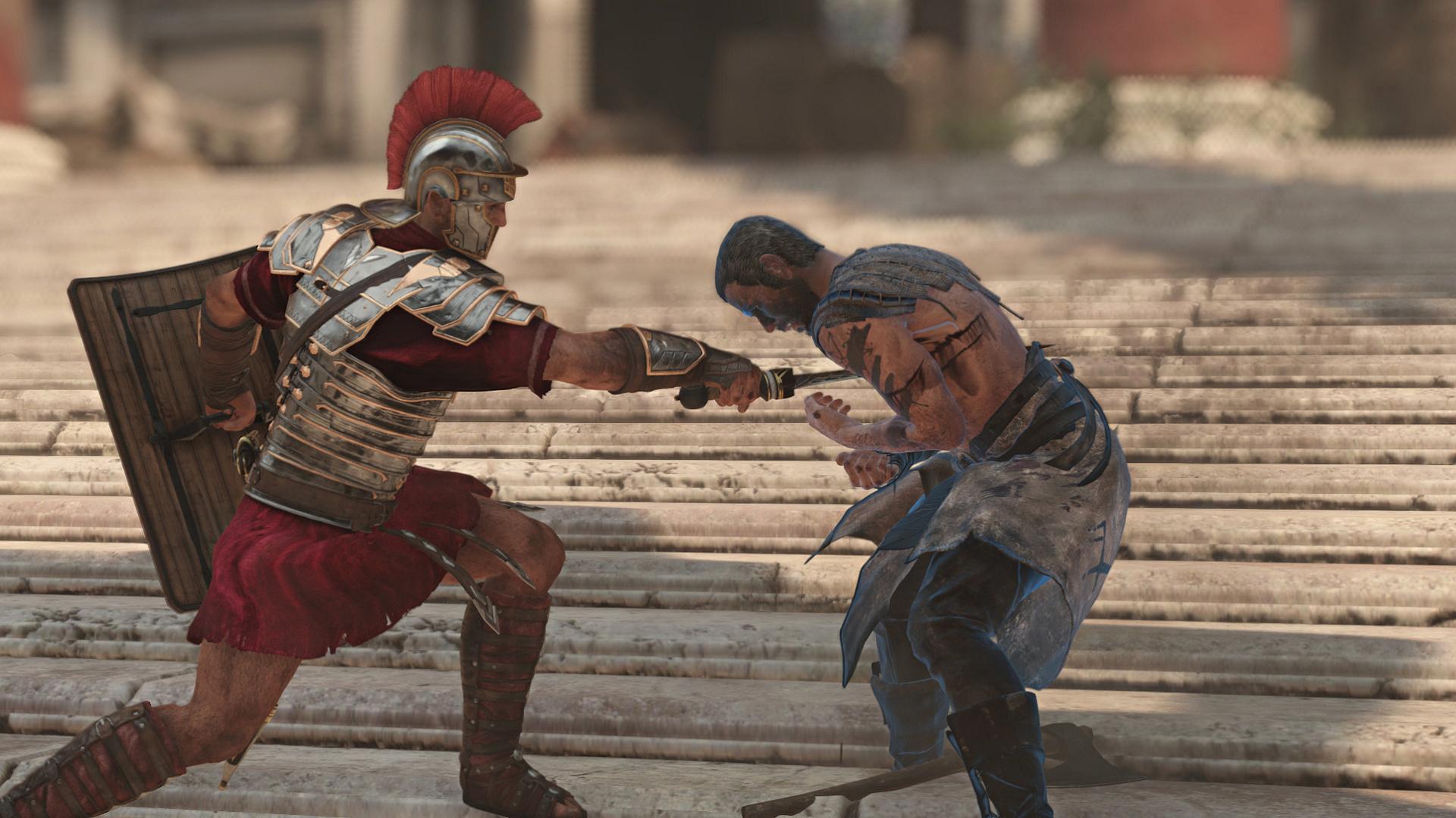 Ryse im Technik-Test: Römer-Attacke auf die Grafikkarte - Ryse wirkt oft wie ein Film. (Screenshot: Marc Sauter/Golem.de)