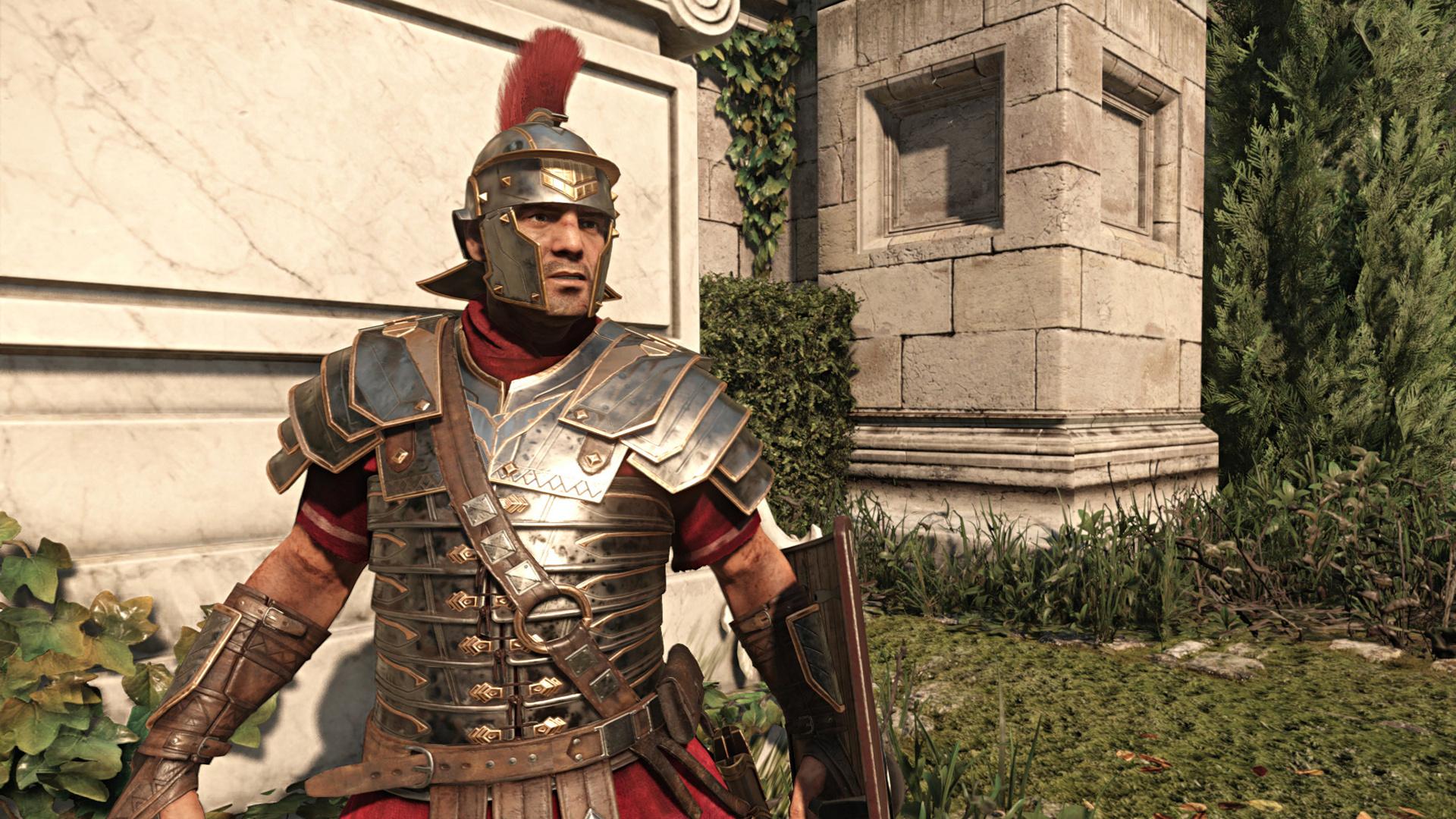Ryse im Technik-Test: Römer-Attacke auf die Grafikkarte - Marius Titus in Rom (Screenshot: Marc Sauter/Golem.de)