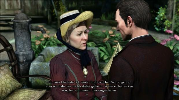 Gespräch mit einer trauernden Witwe (Screenshot: Golem.de)