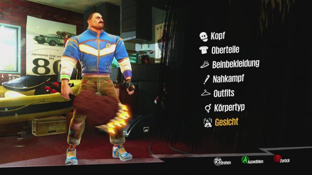 Aussehen und Kleidung des Helden kann der Spieler jederzeit ändern. (Screenshot: Golem.de)
