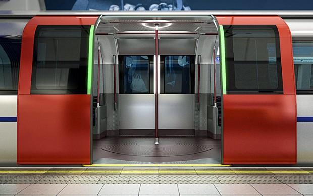 The New Tube for London (Bild: Transport for London/ PriestmanGoode)