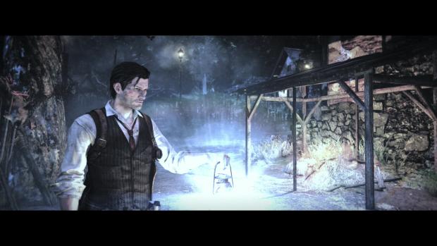 Auf Knopfdruck schaltet der Detective seine Laterne ein ... (Screenshot: Golem.de)