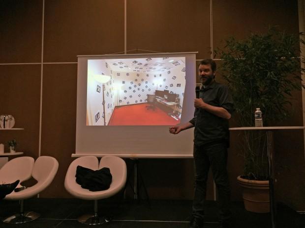 VR-Raum von Valve (Foto: Golem.de)