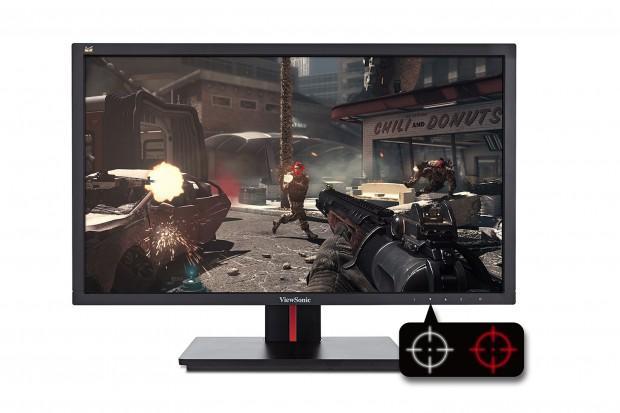 Spiele-Monitor VG 2401 MH (Bild: Viewsonic)