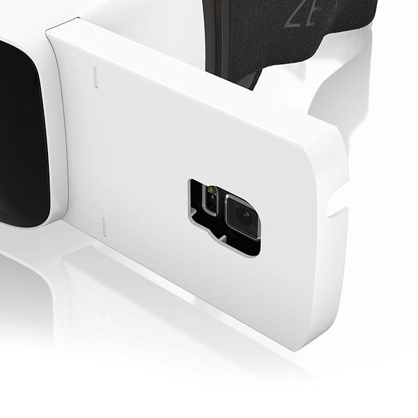 Carl Zeiss: VR-Headset für Galaxy S5 und iPhone 6 - Zeiss VR One (Bild: Carl Zeiss)