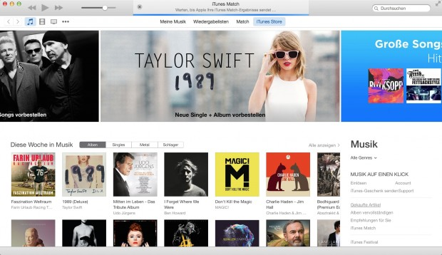 iTunes 12 (Bild: Apple/Screenshot: Golem.de)
