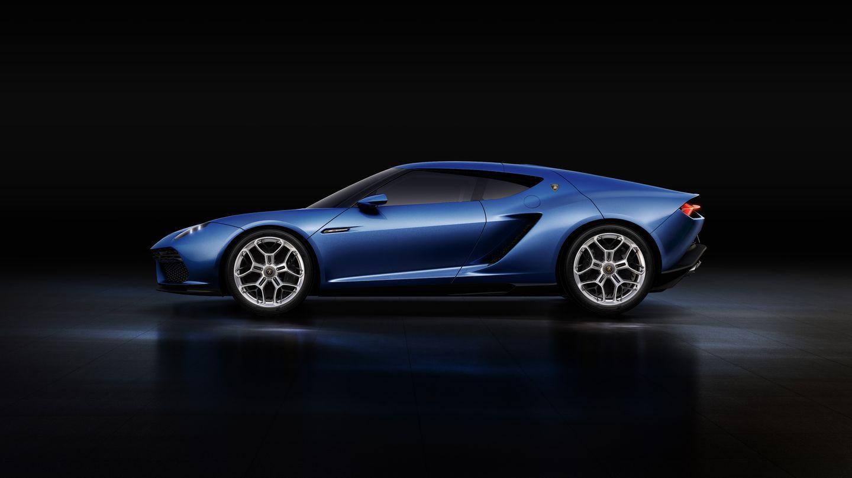 Asterion LPI 910-4: Lamborghini stellt ersten Hybridsportwagen vor - Der Supersportwagen hat vier Motoren: einen Verbrennungs- und drei Elektromotoren. (Foto: Lamborghini)