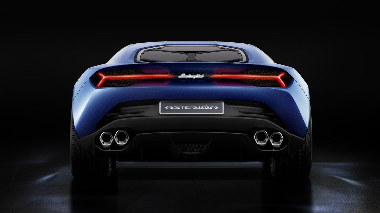 Asterion LPI 910-4: Lamborghini stellt ersten Hybridsportwagen vor - Im Hybridmodus mit Vierradantrieb schafft der Asterion 320 km/h, ... (Foto: Lamborghini)