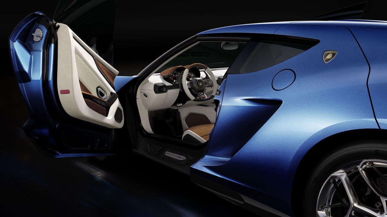 Asterion LPI 910-4: Lamborghini stellt ersten Hybridsportwagen vor - ... rein elektrisch nur 125 km/h. Die Reichweite im Elektrobetrieb liegt bei 50 Kilometern. (Foto: Lamborghini)
