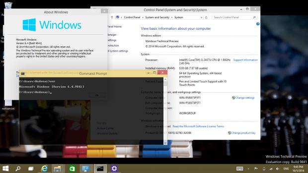 Unsere Testversion lief mit wenigen Problemen auf einem Convertible-Tablet-PC. Screenshot: Golem.de)