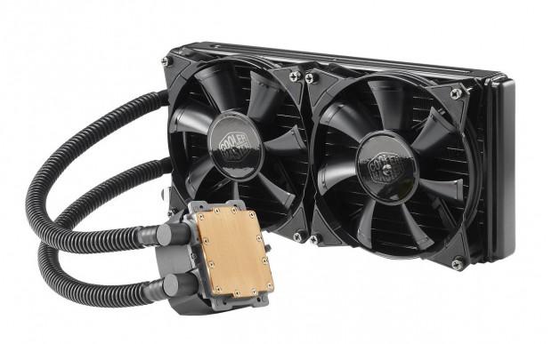 Die Nepton 280L kühlt auch bei über 4 GHz einen 5960X. (Bild: Cooler Master)