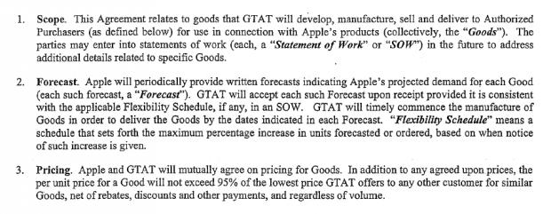 Apple will immer einen um 5 Prozent günstigeren Preis. (Screenshot: Golem.de)