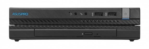 Der E810 mit unten angedocktem DVD-Brenner (Bild: Asus)