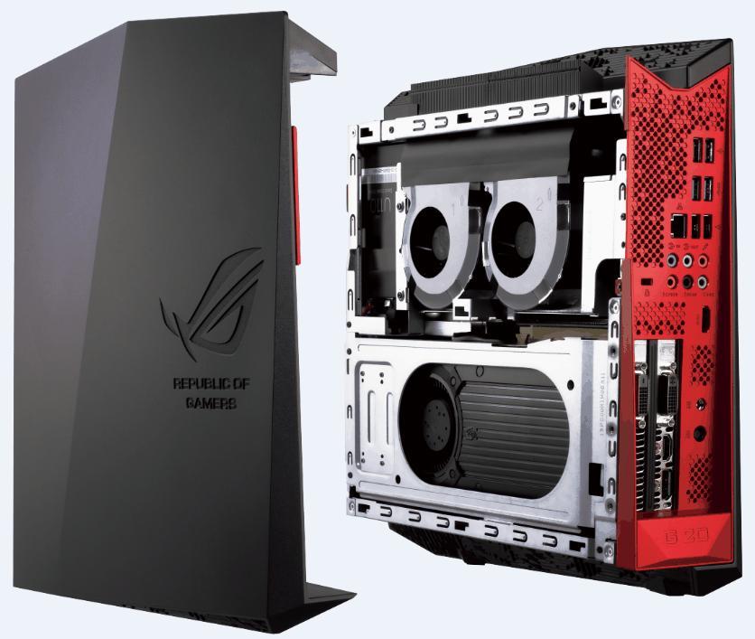 Republic of Gamers G20: Asus' Konsolen-PC mit der Ecke bietet Geforce GTX 980 - Republic of Gamers G20 (Bild: Asus)