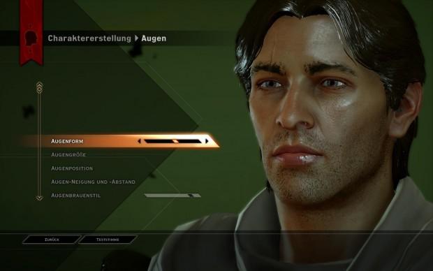 Die Charaktergenerierung erlaubt unzählige Tuningmöglichkeiten - bei Frauen sogar inklusive Make-up (PC). (Screenshot: Golem.de)