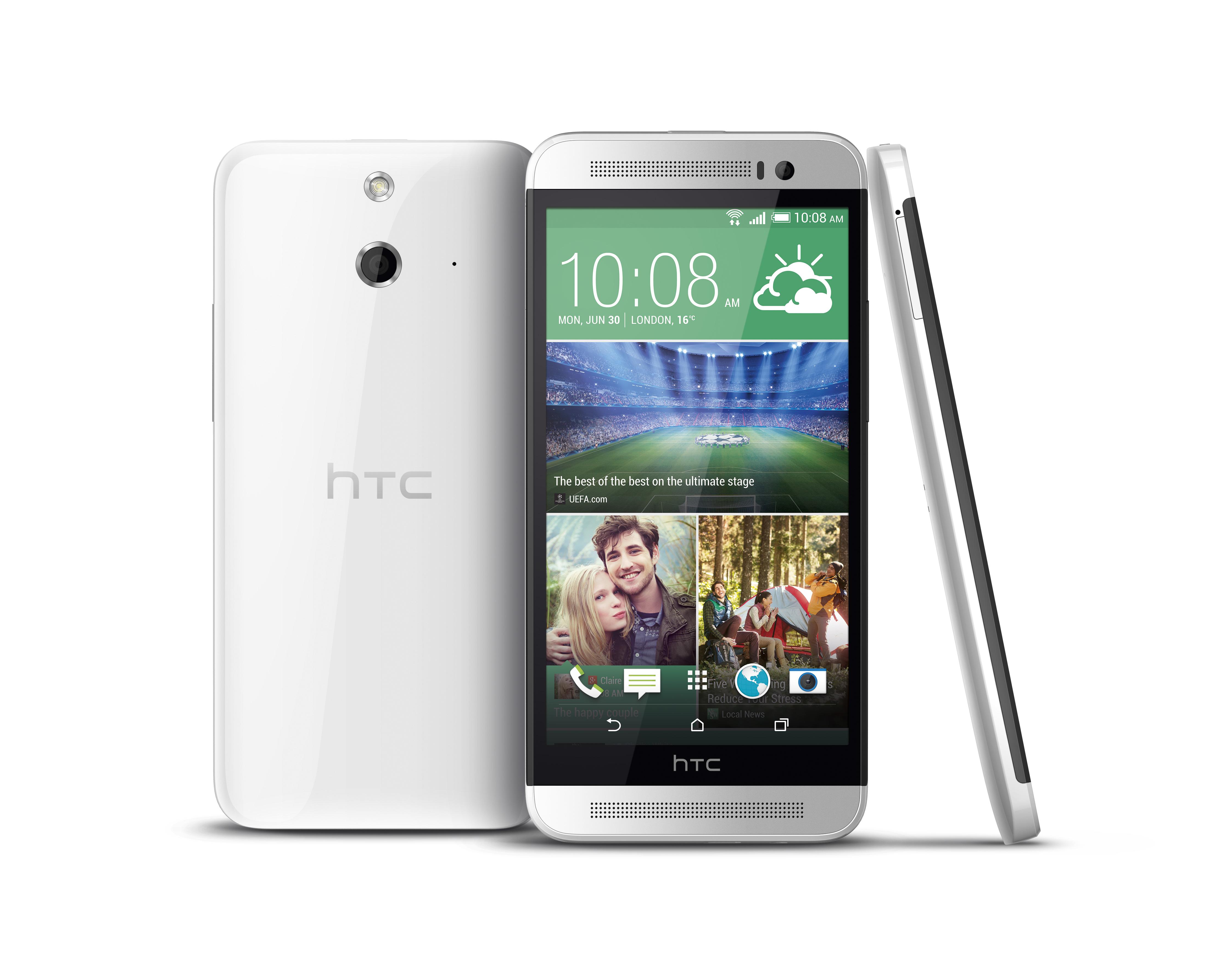 One (E8): HTC bringt besseres One (M8) für 400 Euro nach Deutschland - Das One (E8) von HTC (Bild: HTC)