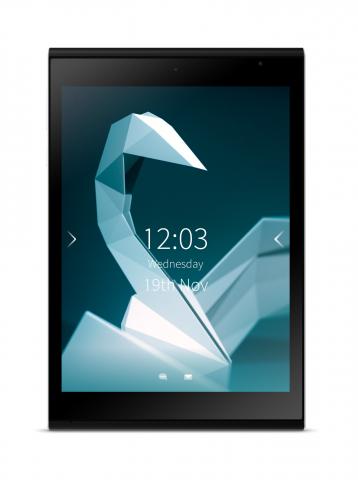 So soll das Jolla-Tablet aussehen. (Bild: Jolla)