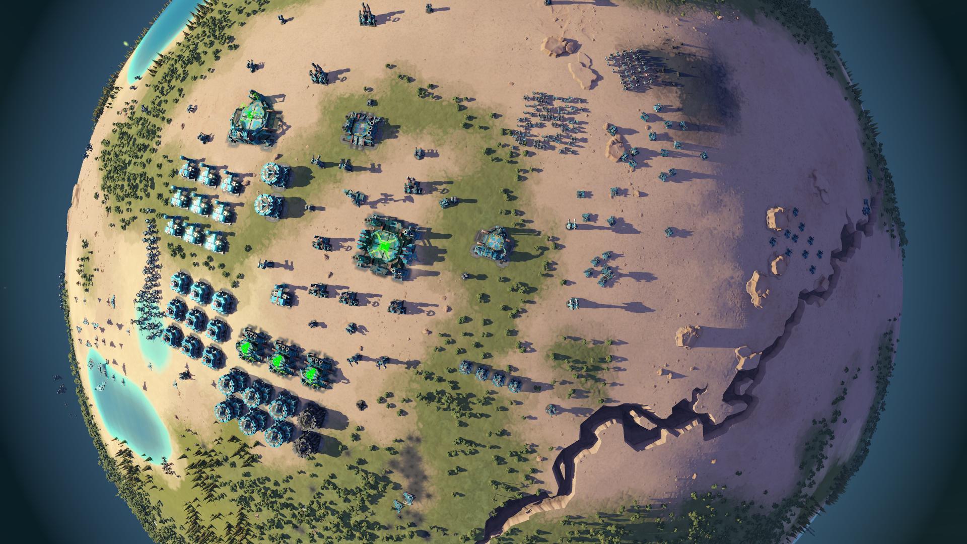 Crowdfunding für Games: Der Goldrausch auf Kickstarter ist vorbei - Planetary Annihilation (Screenshot: Uber Entertainment)