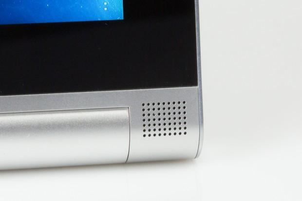 Lautsprecher am Yoga Tablet 2 (Bild: Fabian Hamacher/Golem.de)