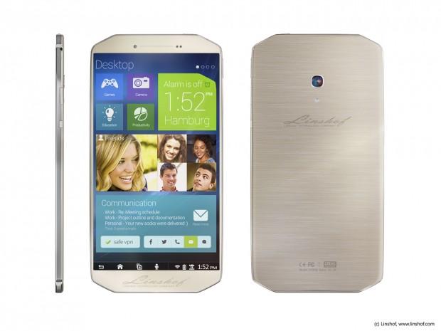 Das i8-Smartphone (Bild: Linshof)