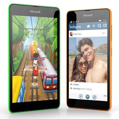 Das neue Lumia 535 von Microsoft (Bild: Microsoft)