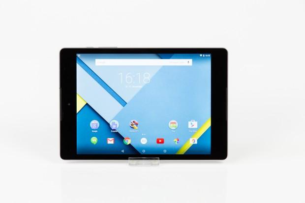 Das Nexus 9 hat einen 8,9 Zoll großen Bildschirm. (Bild: Tobias Költzsch/Golem.de)