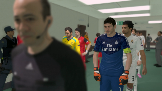 PES 2015 (Xbox-One-Screenshots: Golem.de)