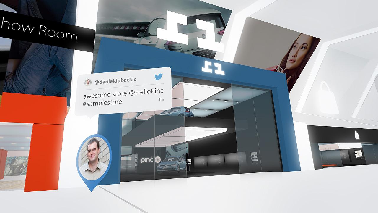 Pinc VR: Virtuelle Realität mit Gestensteuerung für das iPhone 6 - Pinc VR (Bild: Cordon Media)