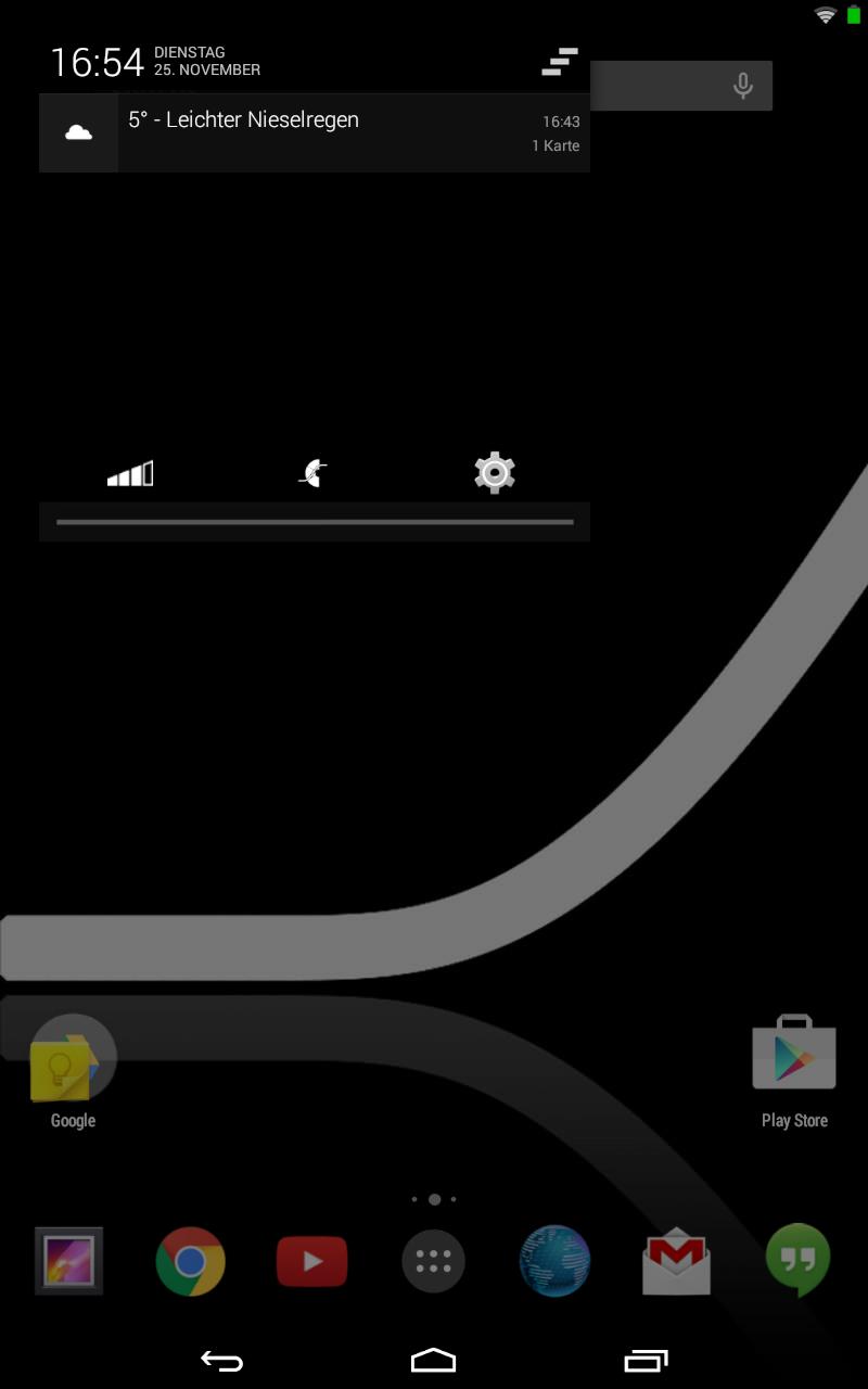 ROM-Ecke: Slimkat - viele Einstellungen und viel Schwarz -