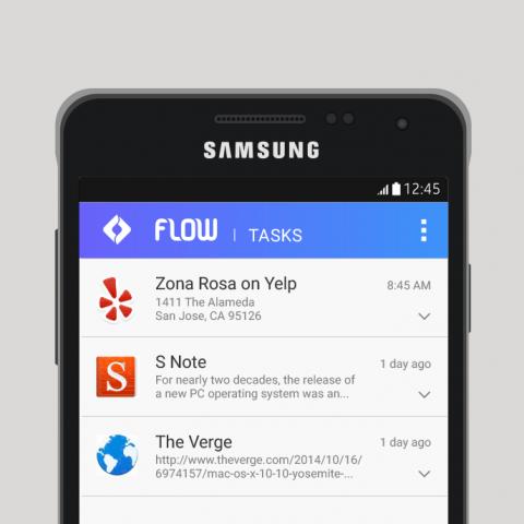 Samsung Flow (Bild: Samsung)