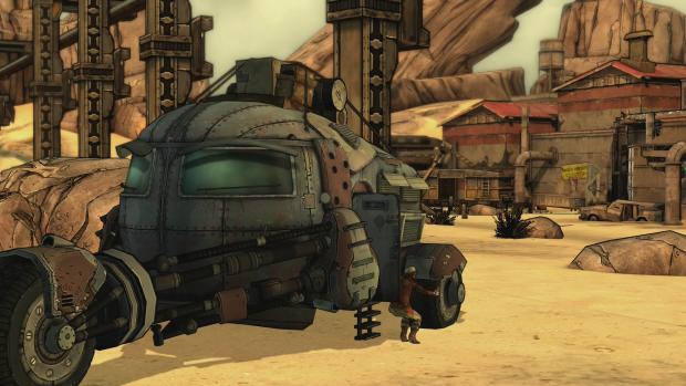 In einem fahrenden Panzer gibt es eine Verfolgungsjagd. (Screenshot: Golem.de)