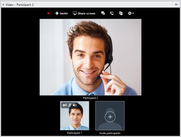 Videokonferenz mit Teamviewer 10 Beta (Bild: Teamviewer)