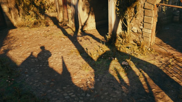 Assassin's Creed Unity mit Percentage Closer Soft Shadows (Screenshot: Golem.de)