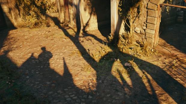 Assassin's Creed Unity mit Percentage Closer Soft Shadows (Screenshot: Golem.de)