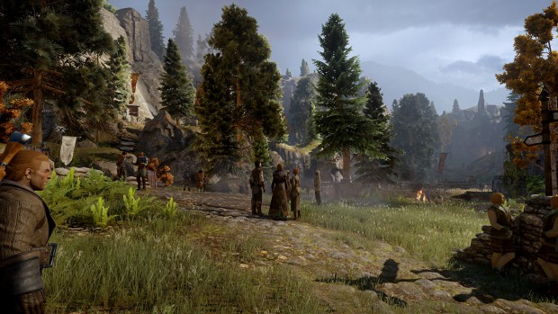 Dragon Age Inquisition mit maximalen Details samt 4x MSAA ... (Screenshot: Golem.de)