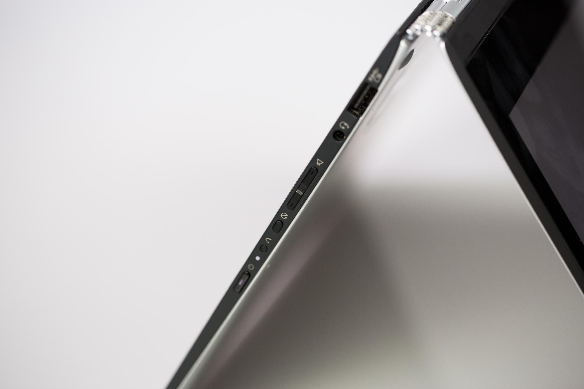 Yoga 3 Pro Convertible im Test: Flach, leicht, hochauflösend, kurzatmig - Yoga 3 Pro (Bild: Fabian Hamacher/Golem.de)