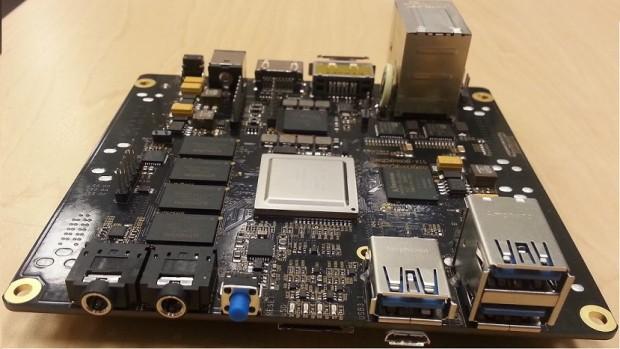 Beagleboard X15 Beta - die GPIO-Pins befinden sich auf der hier nicht sichtbaren Rückseite. (Foto: Elinux.org)