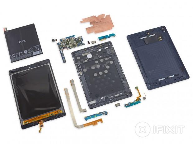 Nexus 9 bei iFixit (Bild: iFixit)