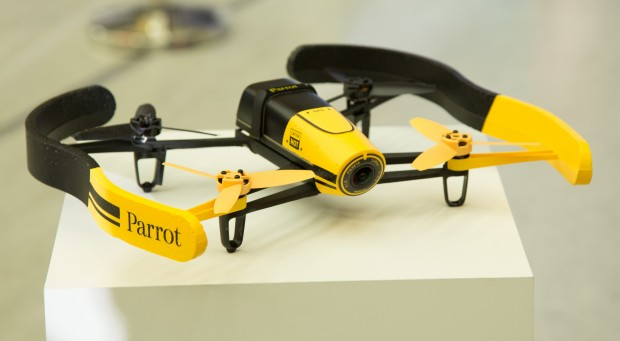 Parrot-Bebob-Drohne (Foto: Martin Wolf/Golem.de)