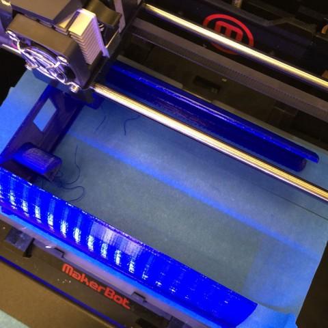Das Gehäuse im 3D-Drucker
