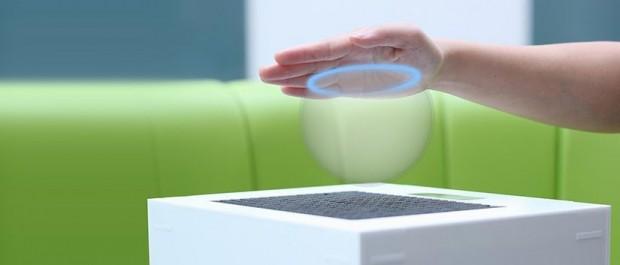 Nicht nur schauen, sondern auch fühlen: Ultrahaptics ermöglicht, virtuelle Objekte anzufassen. (Bild: Bristol Interaction and Graphics Group/University of Bristol)