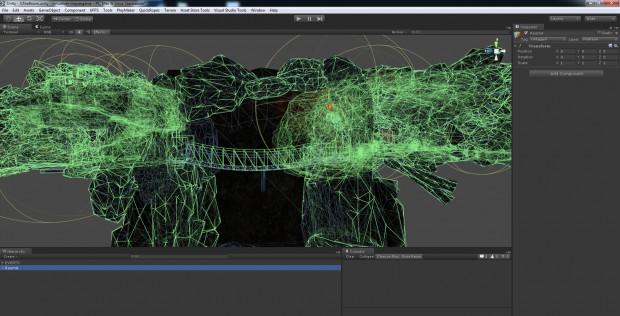 Acan's Call wird auf Basis der Unity-Engine entwickelt. (Screenshot: Cyberith)