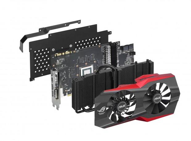 Geforce GTX 980 Matrix (Bild: Asus)