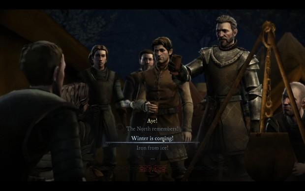 Alle paar Augenblicke kann der Spiele eine von mehreren Antwortmöglichkeiten geben. (Screenshot: Golem.de)