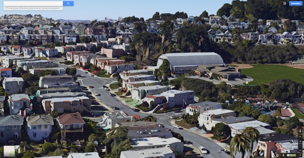 Im südlichen San Francisco schmelzen die Straßen. (Screenshot: Golem.de)
