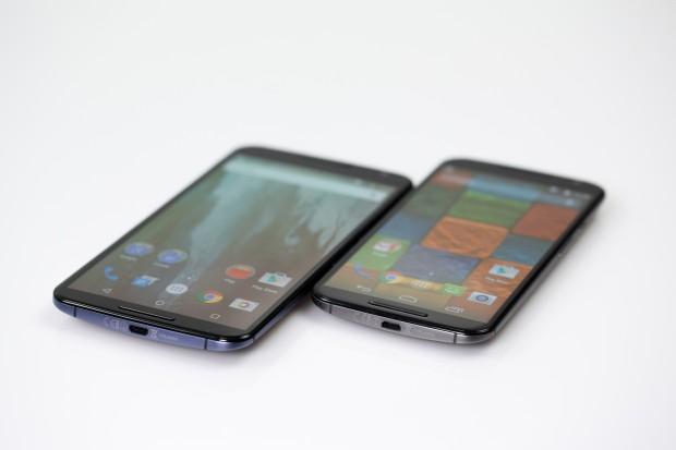 Beide Displays sind hochauflösend - das des Nexus 6 hat 1440p, das des Moto X 1080p. (Bild: Tobias Költzsch/Golem.de)